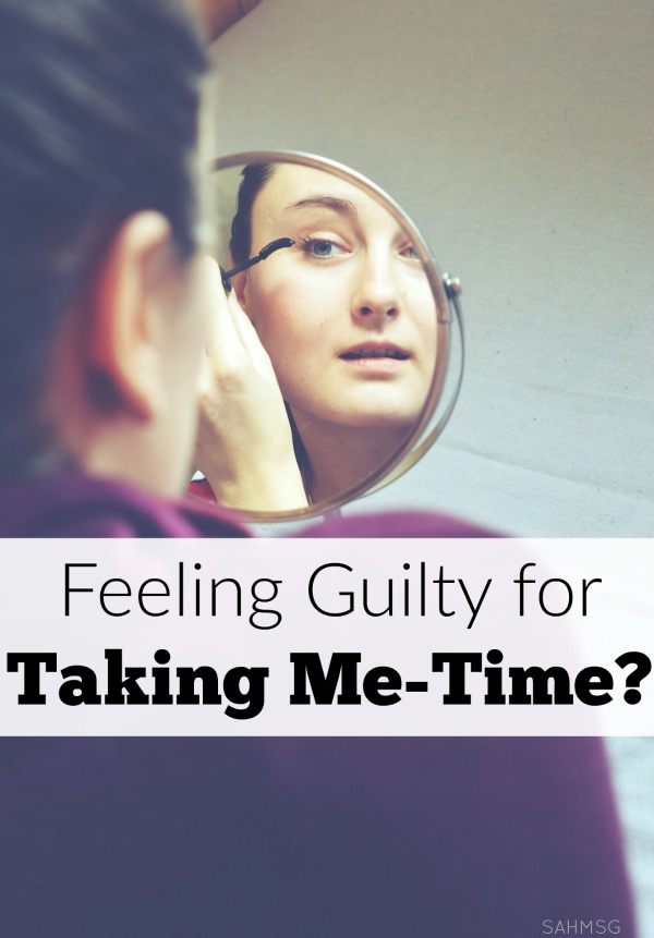 Do you feel guilty when you take some me-time in the midst of motherhood? Stop feeling guilty for taking me-time.