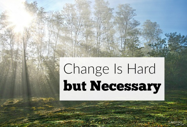 Change is hard, but a necessary part of life. Waiting for God's answer while being prayerfully patient can be challenging, but we can always keep this one thing in mind.