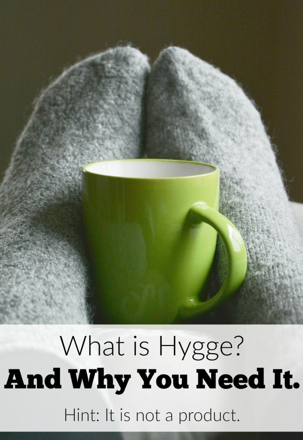 What does hygge mean and why is it essential for achieving balance in motherhood?