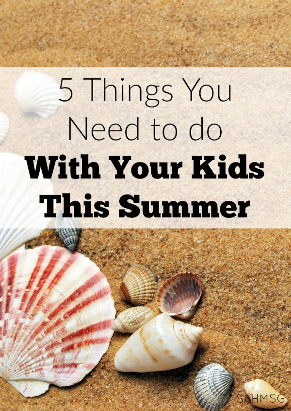 We can enjoy a laid back Summer that still involves making the best of out time with our kids. These 5 things you need to do with your kids this Summer is a laid back bucket list. Not a checklist, but a mindset for a great Summer.