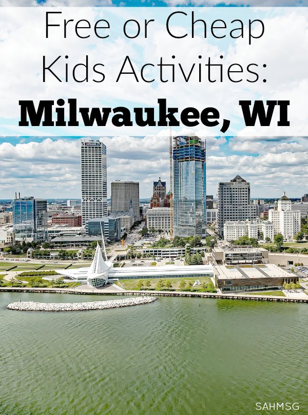Get a go-to list of free or cheap kids activities in the Milwaukee, Wisconsin area. Keep this handy for Summer vacation or rainy days at home with the kids.