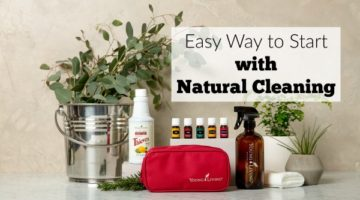 Easy Way to Start with Natural Cleaning Products