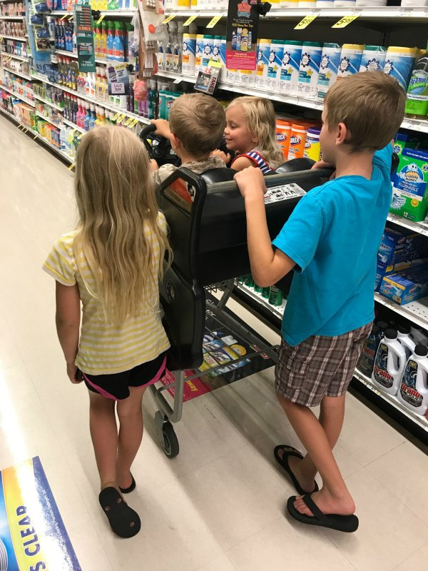 I needed a simple way to organize my grocery list to reduce my stress when shopping with kids. This organized grocery list saves you money! My kind of app. #sponsored.