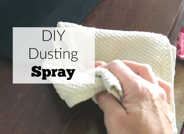 DIY dusting spray. Natural is cheaper and better for you.