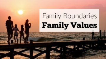 Family Boundaries Equal Family Values