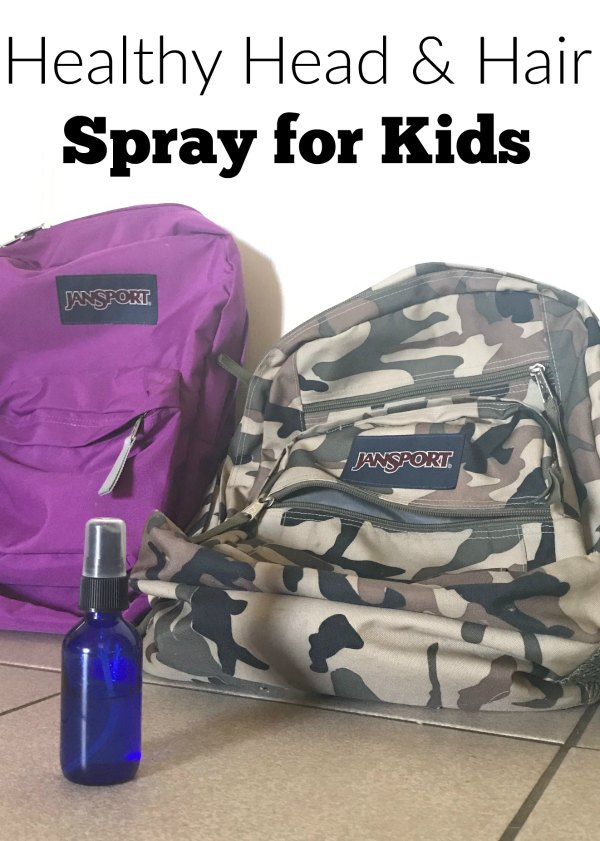 Fend off the icky hair critters with this healthy head spray that doubles as a hair detangler for kids. It's all natural, and kid-safe.