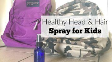 Healthy Head Spray & Detangler for Kids