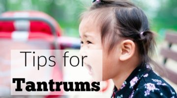 Tips for Tantrums