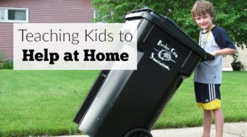 Teaching Kids to Help at Home