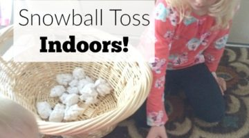 Snowball Toss Indoors!