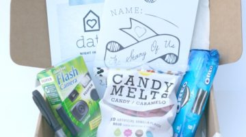 Looking for fun date night ideas? Date your spouse with Date Night in a Box. These themed all-in-one date night boxes are so fun! All the supplies you need for a fun and romantic night in with your love is included.