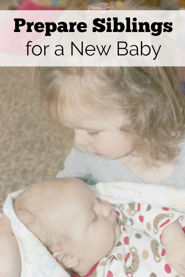 Ideas to get siblings excited about a new baby.