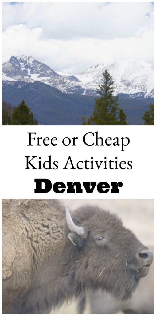Free or cheap kids activities in Denver, Colorado. You don't have to spend a lot to have fun with your kids!