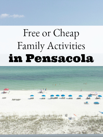 Live in or traveling to Pensacola FL? This list of activities in Pensacola that are free or cheap are great activities for families in Pensacola, FL.