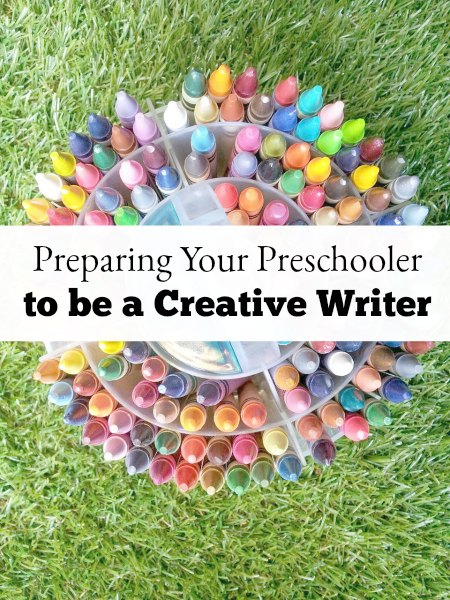 Preparing your preschooler to be a creative writer is all about linking writing to creative play in fun ways. These tips will help!