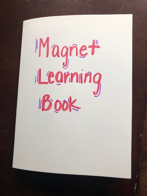 DIY Magnet Learning Busy Book for Toddlers and Preschoolers.