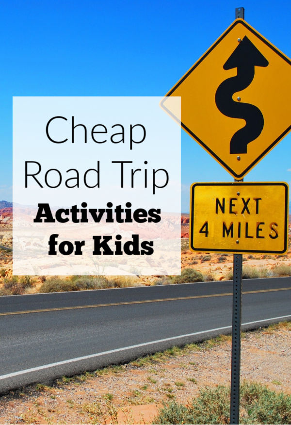Favorite cheap road trip activities for kids to keep them occupied in the car on your next road trip. These are all electronics-free!