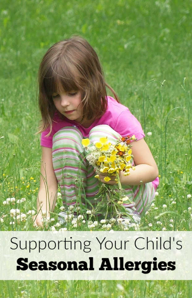 Natural tips for supporting your child's seasonal allergies. Help your child breathe easy with these ideas.