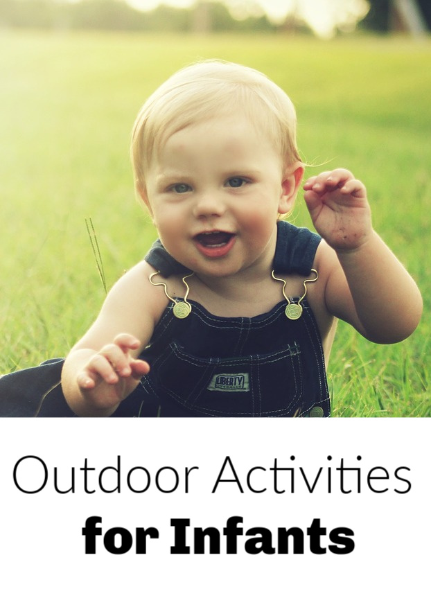 Outdoor activities for infants.
