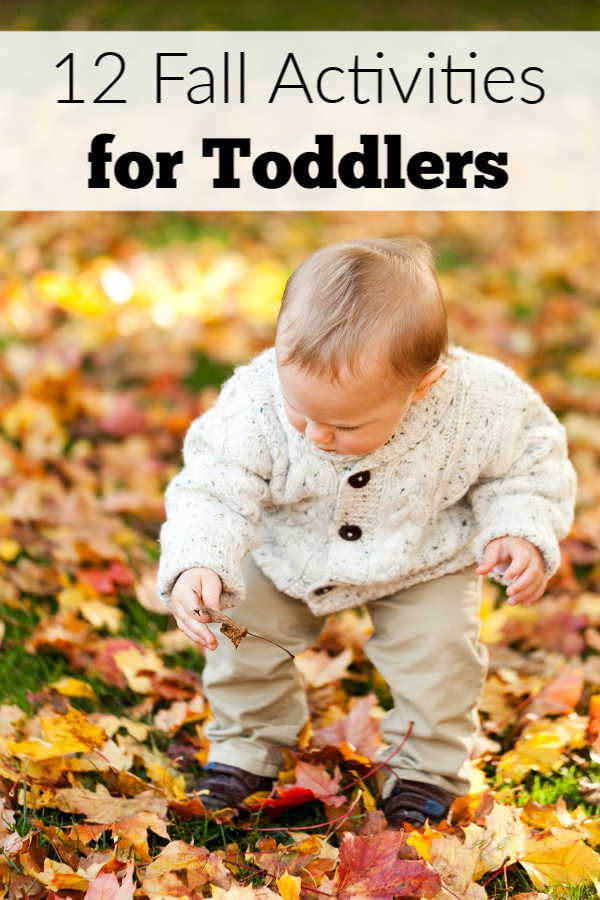 12 Fall activities for toddlers that work for preschool kids too!