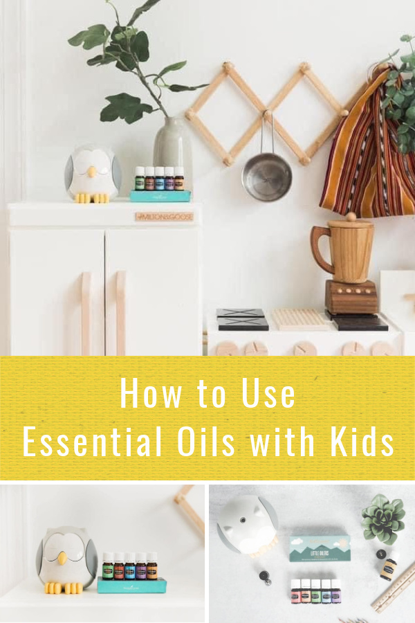 How to use essential oils with kids and babies safely and easily.