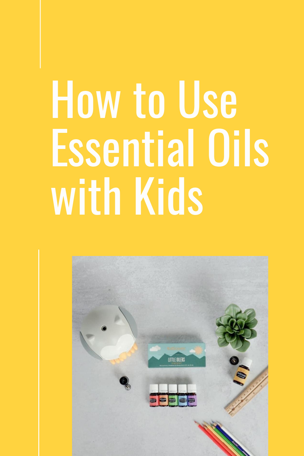 How to use essential oils with kids: the easy route to natural options for moms.