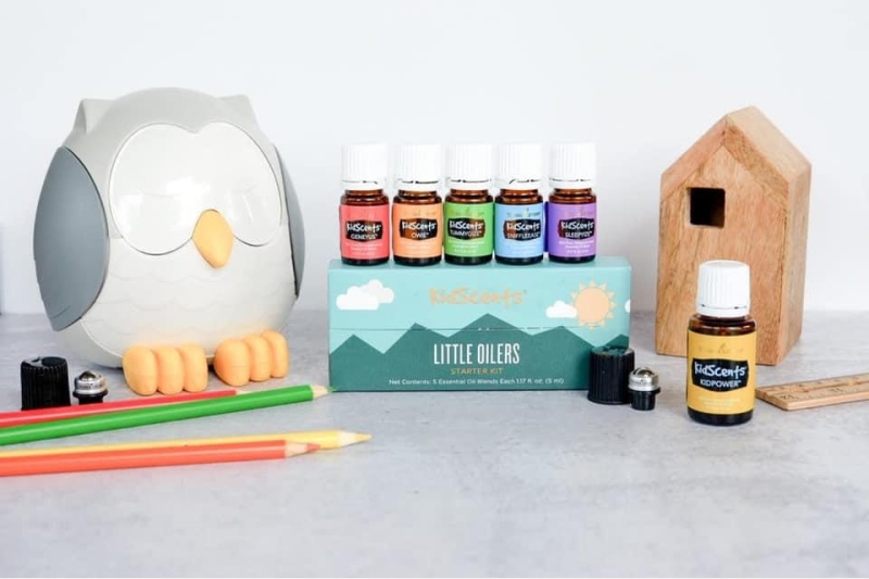 Little Oilers Starter Kit for Kids: Using Essential Oils with kids just became even easier!