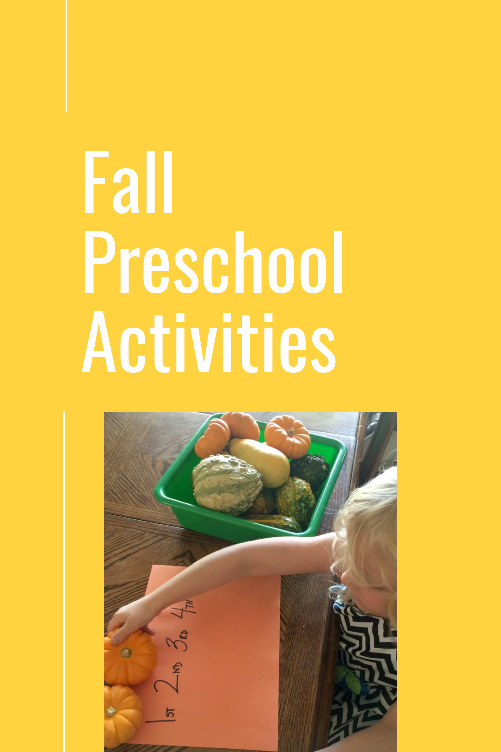 This collection is a list of my favorite fall preschool activities. I taught these in my preschool classrooms and my children loved them when we did preschool at home.