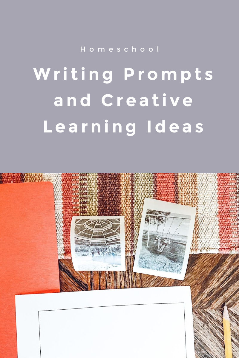 Homeschool writing prompts and creative activities with poooliprint pocket printer.