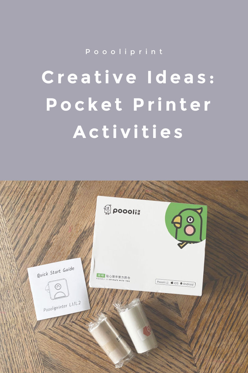 Homeschool writing prompts and creative learning activities with poooliprint.