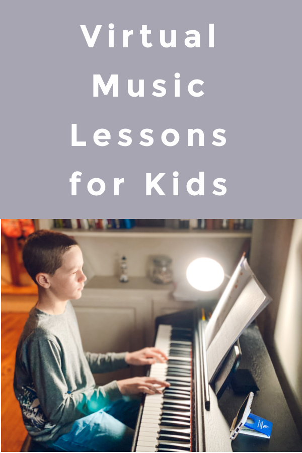 Virtual music lessons for kids on sale with South Pasadena Arts and Music academy.
