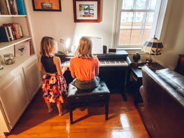 Music education enhances a child's learning. Virtual music lessons for kids are on sale.