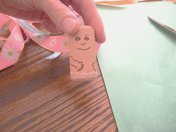 Make DIY toy people as a preschool art project and add them to pretend play.