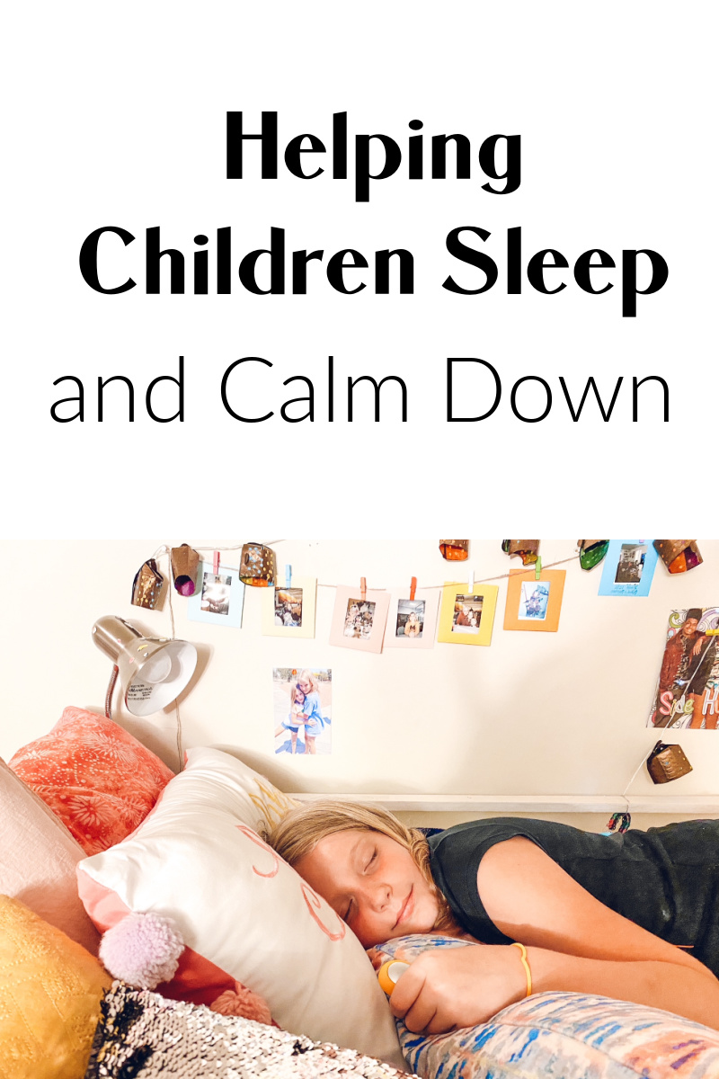 5 tips for helping children sleep and calm down faster.