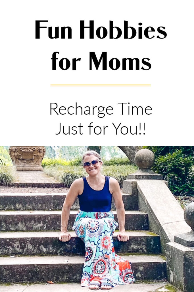 Try these hobbies for moms to fit in recharge time when the kids are napping or at school.
