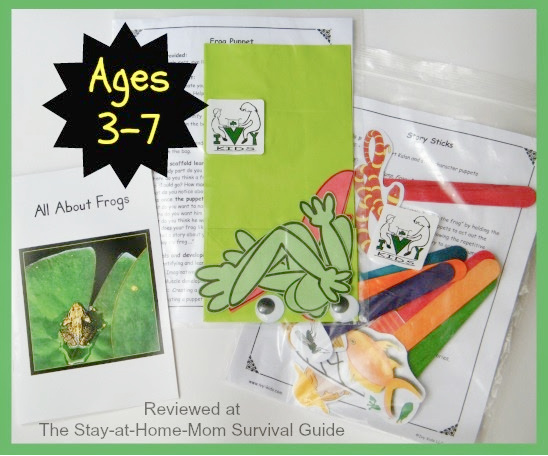 Fun hands-on learning for kids, preschool at home, with Ivy Kids kits.
