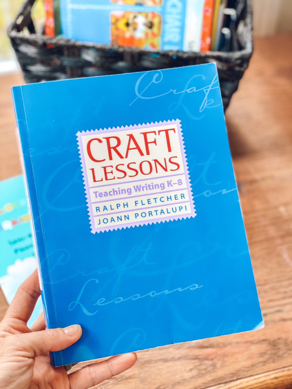 Craft Lessons writing curriculum for summer enrichment or homeschool writing curriculum.