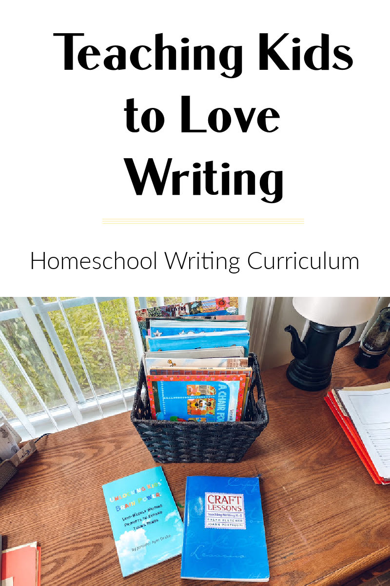 Two resources for teaching kids to love writing or as a complete homeschool writing curriculum allows you to teach multi-age whole group.