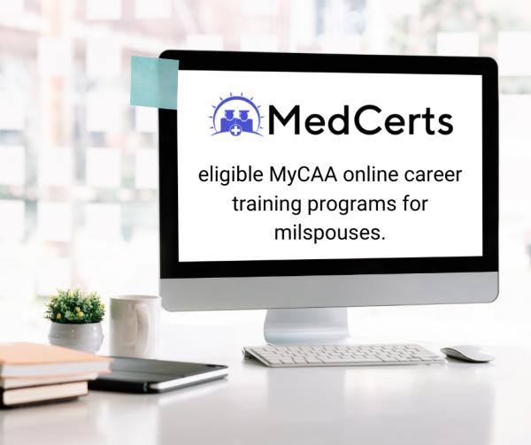 Medcerts online career training program is MyCAA eligible. Back to school options for moms.
